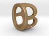 Two way letter pendant - BO OB 3d printed