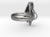 Hyena Skull Ring - Size 8  3d printed