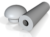 Sonic Screwdriver -Tennant-NeckCabochon 3d printed