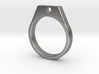 20.57 Mm Ring With Heart 3d printed