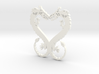Dragonheart Pendant 3d printed