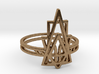 Viridiana Ring 3d printed