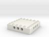 CustomMaker BrickFrame 6x6x3 With Axle Mounts 3d printed