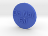 Do Not Fill Washer Cap 3d printed