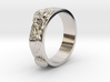 Sea Shell Ring 1 - US-Size 2 1/2 (13.61 mm) 3d printed
