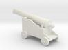 Miniature 1:48 Pirate Cannon 3d printed