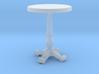 Miniature 1:48 Cafe Table 3d printed