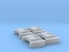 EMD Extended Range Dynamic (N - 1:160) (IMRC) 4X 3d printed