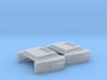 EMD Exhaust Silencer (N - 1:160)(IMRC) 2X 3d printed