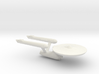 USS Enterprise Miniature 1:5000 3d printed