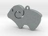 Simple Aries Keychain 3d printed