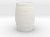 Barrel 60 Gal - HO 87:1 Scale 3d printed