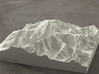 6'' Denali, Alaska, USA, Sandstone 3d printed Radiance rendering of the model, viewed from the South