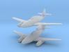 1/200 Messerschmitt Me-262B (x2) 3d printed