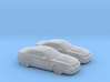 1/160 2X 2003 Ford Mustang Cobra Convertible 3d printed