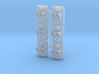 SP Full Rear Cluster (Flat)(N - 1:160) 6X 3d printed