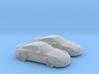 1/160 2X 2010 Porsche 911 GT2 3d printed