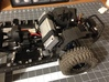 AJ20001 Front Battery Mount Axial (SCX10) 3d printed Shown fitted to the SCX10 sold separately.