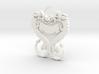 Dragonheart Keychain 3d printed