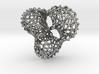 Scherk 7 Voronoi Mesh Pendant - 25mm 3d printed