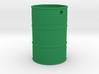 Steel Barrel Keychain 3d printed