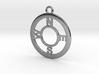 Compass Pendant 3d printed