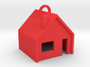 Customizable Keychain 'Little House' 3d printed