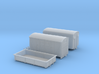 N Scale 1950/60s Freight 3 Pack 3d printed