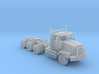 Western Star Tri-Axle Off Road 1/87 3d printed