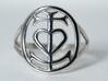 Cocorosie Camargue Ring 3d printed
