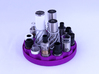TriCyclone Vape Stand: Bottom Round Plate 3d printed Fully Built and Stocked