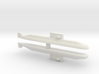 Lada-Class Submarine x 2, 1/1800 3d printed