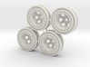 "Bead-lock 1/4"" offset 7mm hex - Losi McRC/Trekker 3d printed"