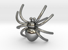 Spider post Earring 3D printing 3d printed