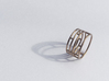Delicatesse Ring  (Size K, 50, 5 1/8, 10) 3d printed