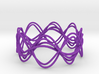 Wave Bangle B25M 3d printed