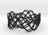 Wave Bangle B21L 3d printed