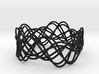 Wave Bangle B21M 3d printed
