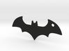 Batman logo keychain 3d printed