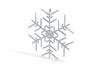 Snowflakes Series III: No. 1 3d printed