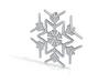 Snowflakes Series III: No. 3 3d printed