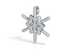 Snowflakes Series III: No. 23 3d printed