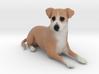 Custom Dog Figurine - Scar scar 3d printed
