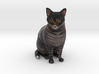 Custom Cat Figurine - Sebastian 3d printed