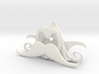 Wine topper Mustache pack of 5 3d printed