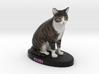 Custom Cat Figurine - Subi 3d printed