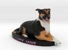 Custom Dog Figurine - Lucy jane 3d printed