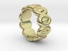 Elliptic Ring 25 - Italian Size 25 3d printed