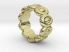 Elliptic Ring 30 - Italian Size 30 3d printed