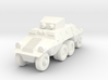 1/100 Austrian ADGZ Armored Car 3d printed